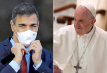 Sánchez Papa Francisco
