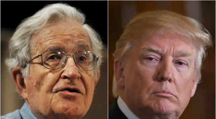 Chomsky y Trump