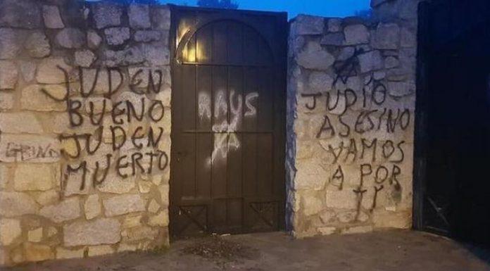 pintadas antisemitas madrid