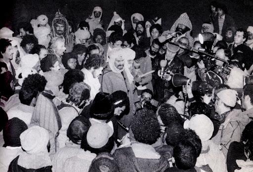 Imagen de la proclamación de la RASD. Hoy se cumplen 45 años de la efeméride.