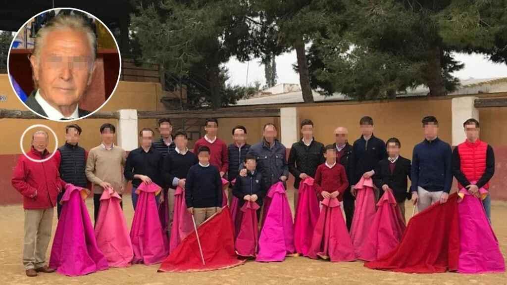J.M., el presunto delincuente abusador de menores en la escuela taurina de Murcia