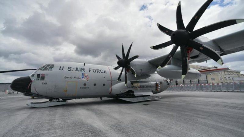 EEUU envía un avión militar a Ucrania en medio de tensiones con Rusia