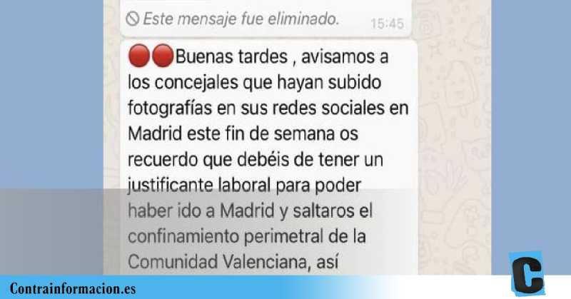 """Vox pide a sus cargos quebrar el cierre perimetral con """"justificantes laborales"""" para llenar los mítines de Madrid"""