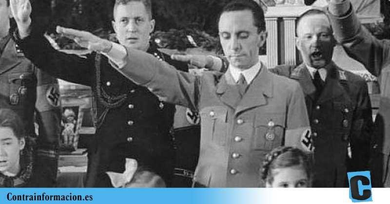 Vox copia descaradamente las técnicas de propaganda nazi de Goebbels