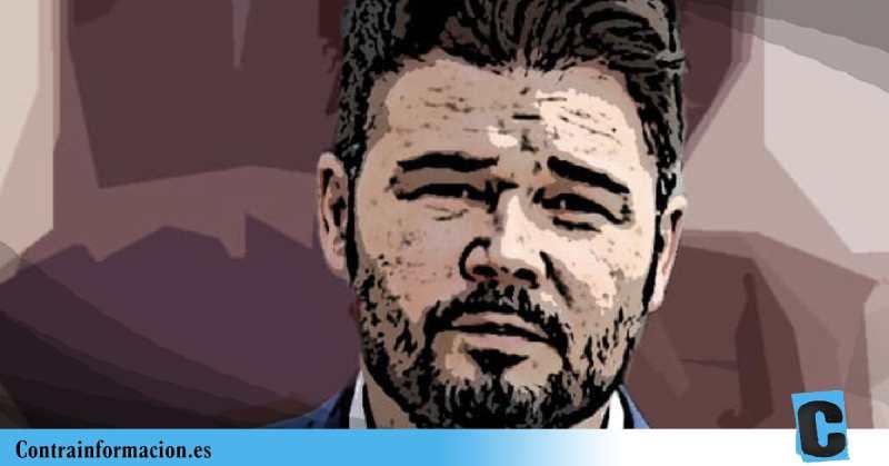 """Rufián, sobre Felipe VI: """"Si no quiere firmar los indultos, que abdique"""""""