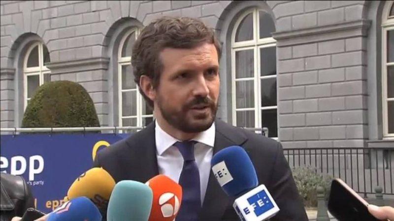 El nerviosismo de Casado cuando le preguntan si Aznar engañó a los españoles cuando indultó a 15 condenados por terrorismo
