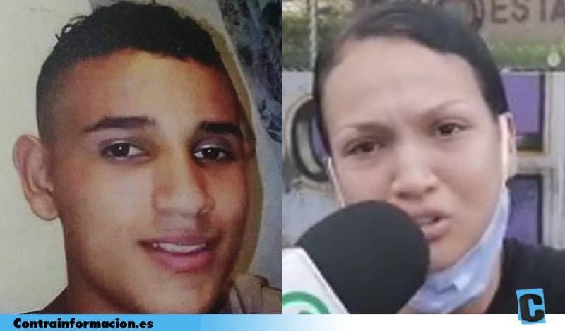 """""""Se lo llevaron en una tanqueta y apareció quemado"""". El desgarrador mensaje de la hermana de un joven asesinado en Colombia por la Policía"""