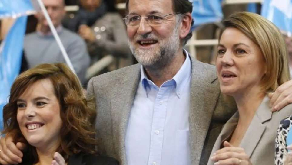 Cospedal Rajoy Saenz de Santamaría