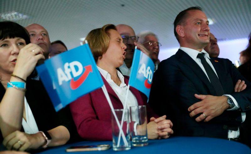 La ultraderechista Alternativa para Alemania (AfD) de la expectación al drama en 6 fotos / Imagen: El HuffPost